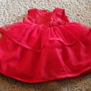 6mth beautiful red dress